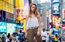 Moda e viaggi: una modella a New York