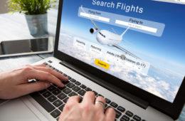 Turismo, prenotazione online di un viaggio