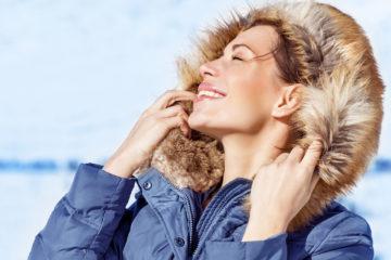 Winter Wear: donna di lusso sulla neve
