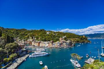 Ponte i maggio 2018: veduta di Portofino