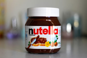 Ingrediente per torta nutella