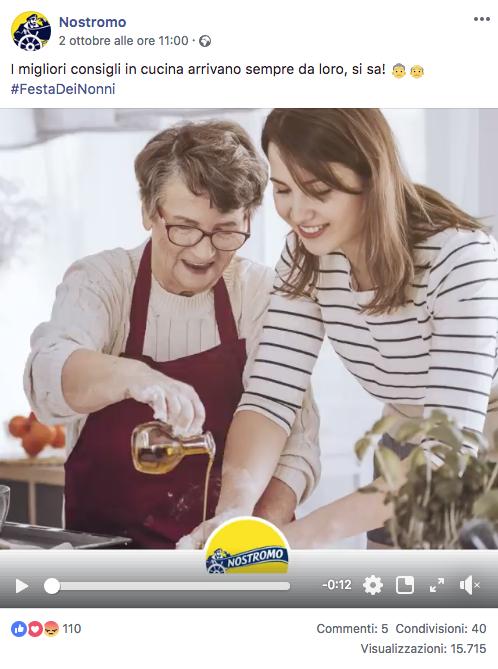 Festa dei nonni 2018 Nostromo tonno facebook