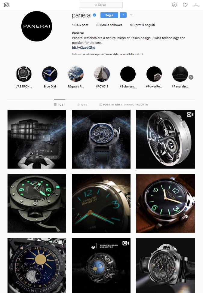 Brand orologi Panerai IG