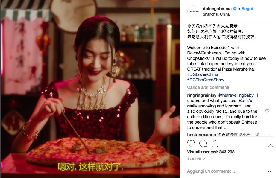 Spot Dolce&Gabbana Cina