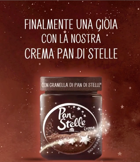 Crema Pan di Stelle packaging