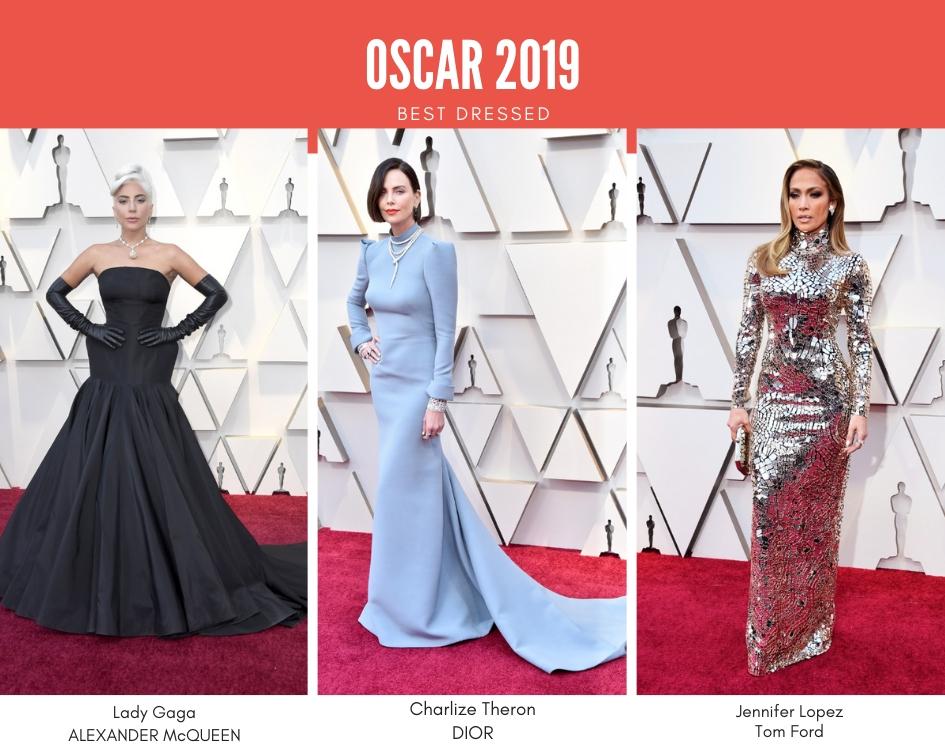 Oscar 2019, best dressed