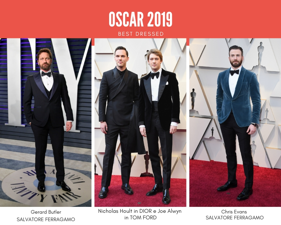 Oscar 2019, uomini