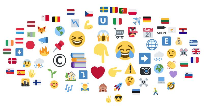 Salone del Libro 2019 top emojis